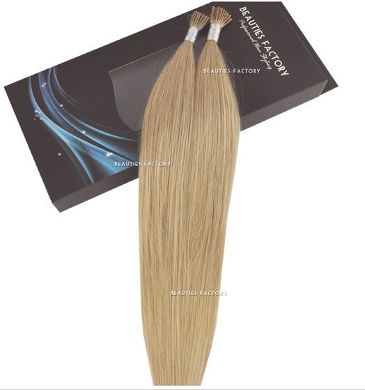 i-tip Human Hair Extensions #18/613 Ash Blonde/ Cream Blonde Mix 20