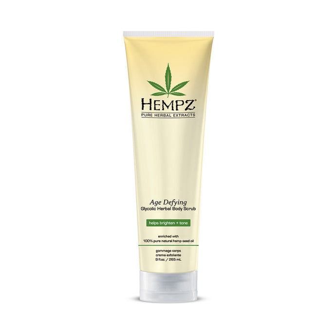 Hempz Age Defying Body Scrub Bottle