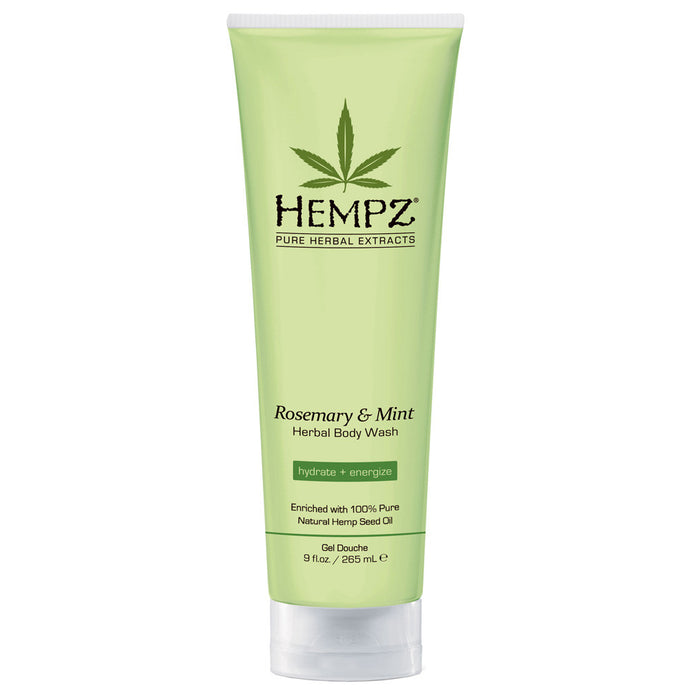 Hempz Body Wash-rosemary Mint 265ml Bottle