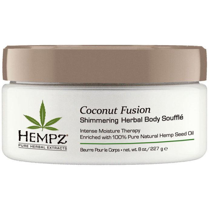 Hempz Coconut Fusion Herbal Shimmering Body Souffle Sachet