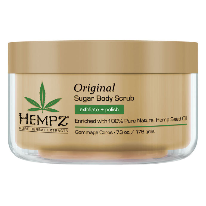 Hempz Original Herbal Sugar Body Scrub 215ml Bottle