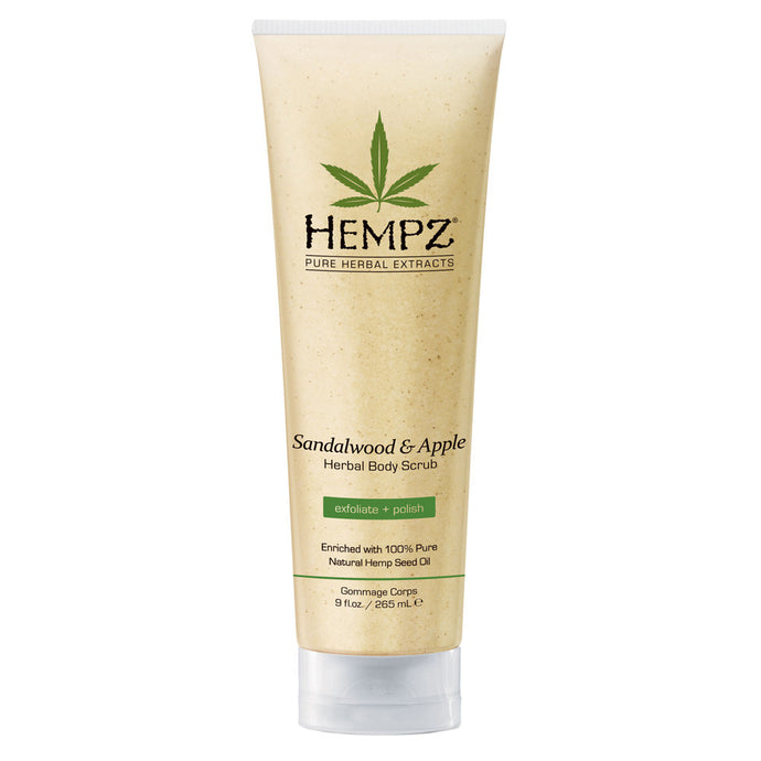 Hempz Sandalwood And Apple Scrub Bottle