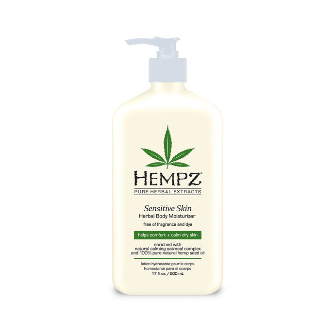 Hempz Sensitive Skin Herbal Body Moisturiser Bottle