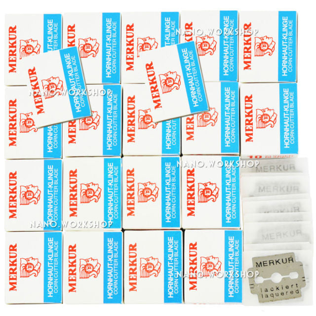 New Pro 200 x Replacement Blades 4 Skin Foot Callus Rasp Remover Shaver