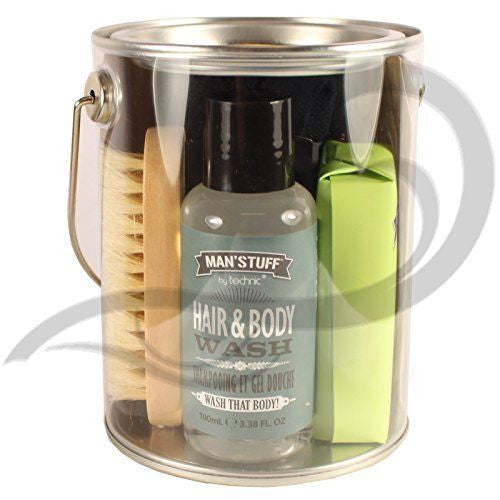 Man'Stuff The Man Can Body Wash Gift Set