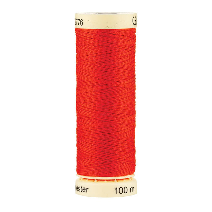 Professional Silky Tangerine Thread