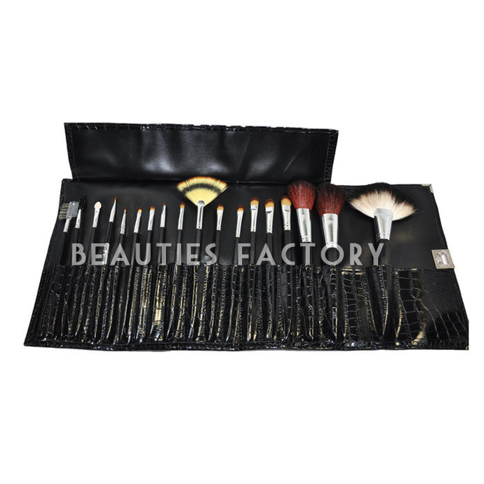 Glossy Snake Design - Makeup Brushes x 18pcs