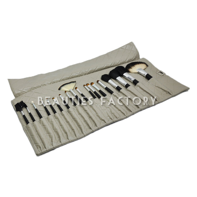 Elegant Grey - Makeup Brushes x 18 pcs