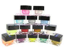 Glitter Color UV Gel x 14 Colors