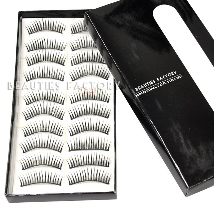 BF 10 Pairs Good-to-go Eyelashes - BF-66