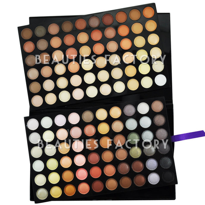 120 Color Eyeshadow Palette (#4) - NEUTRAL WARM (Limited Stocks for Global Purchase)