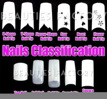 BF Professional Airbrushed New false Nail Tips For Acrylic Nail Art Tips Design Manicure tool (70pcs w/ tip box & glue) - EARLYWOOD