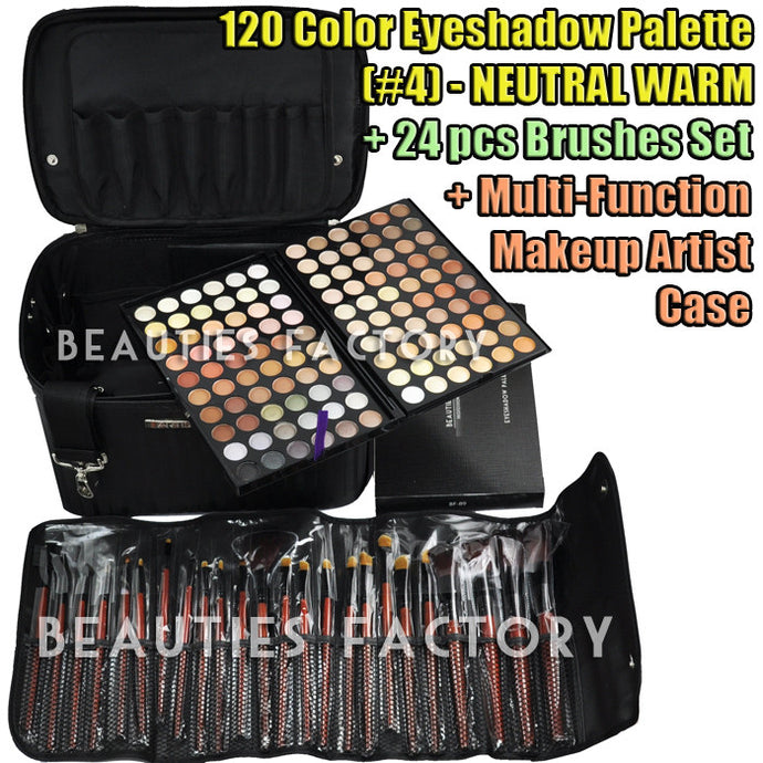 Office Lady Makeup Set - Eyeshadow + Brushes