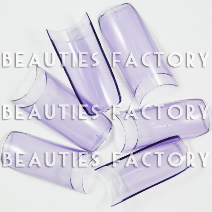 Transparent Purple - French False Nail Tips (Grade A) x 500pcs