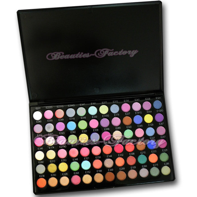 72 Color Eyeshadow Palette