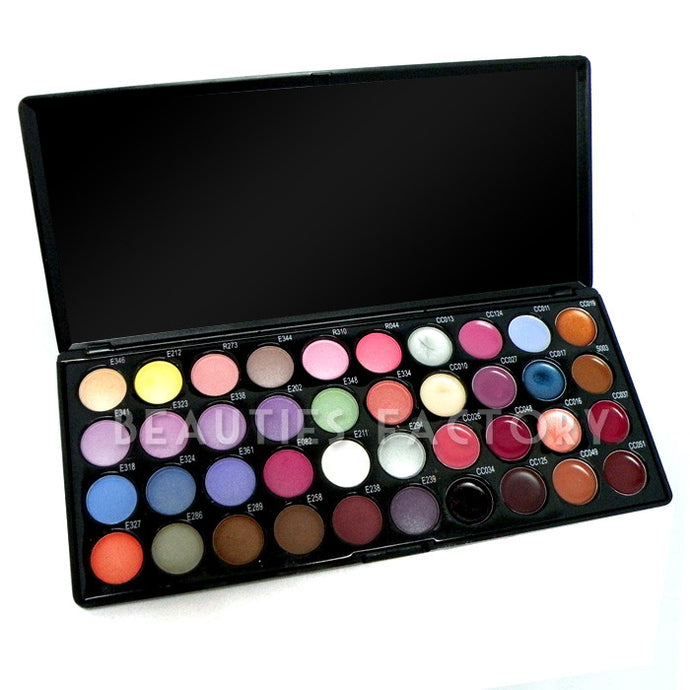 40 Color Eyeshadow & Lip Gloss Palette #3