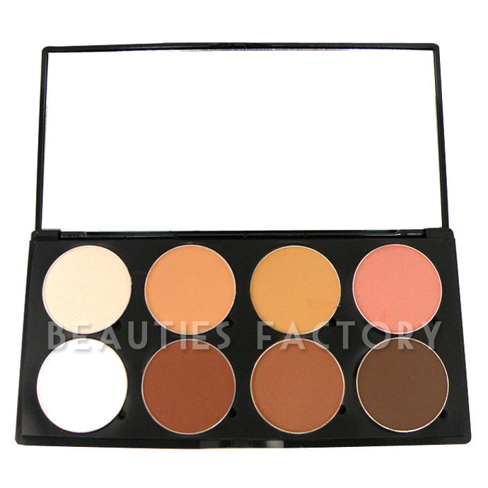 Style EIGHT - 8 NEUTRAL / NUDE COLORS EYESHADOW