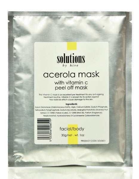Acerola Vitamin C Peel Off Mask 30g