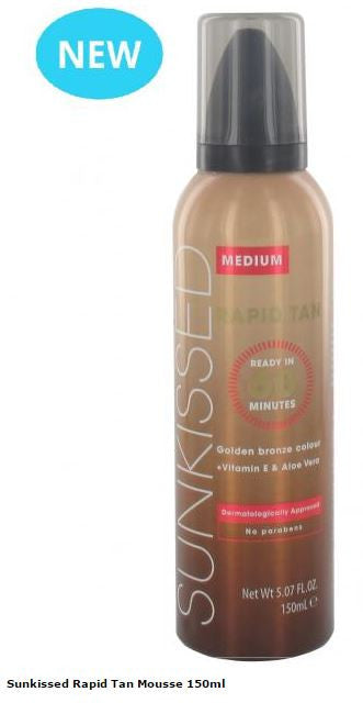 Sunkissed Rapid Tan Mousse 150ml