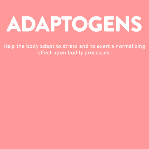 Adaptogens help the body adapty to stress and is found in Neffs Naturals Botanical Balance