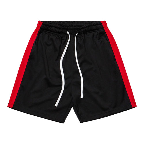 Athletic Shorts - Black / Red