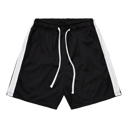 Athletic Shorts - Black / White