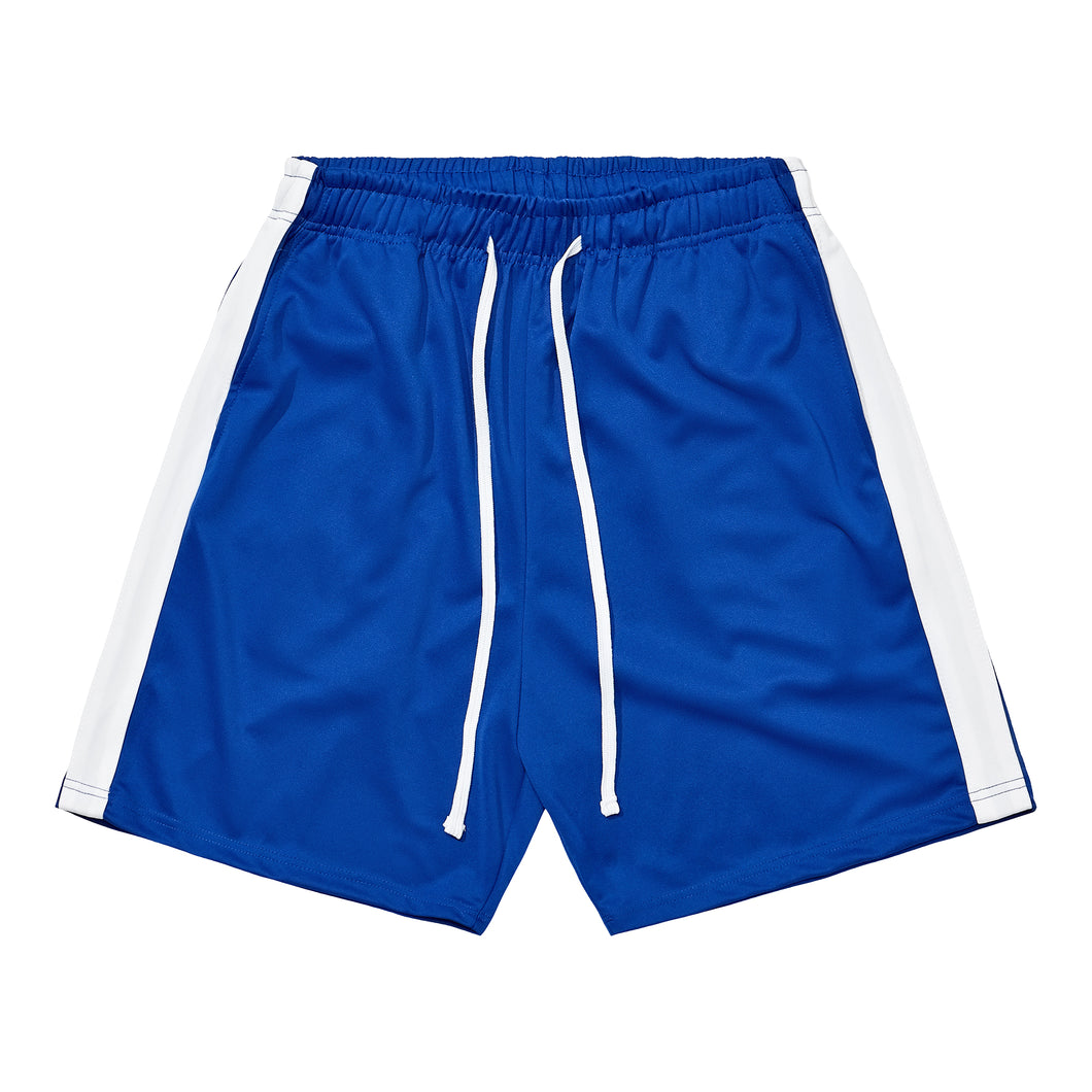 Athletic Shorts - Blue / White