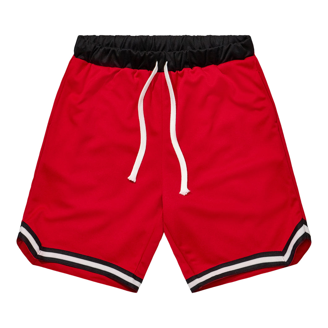 Athletic Shorts 2 - Red / Black
