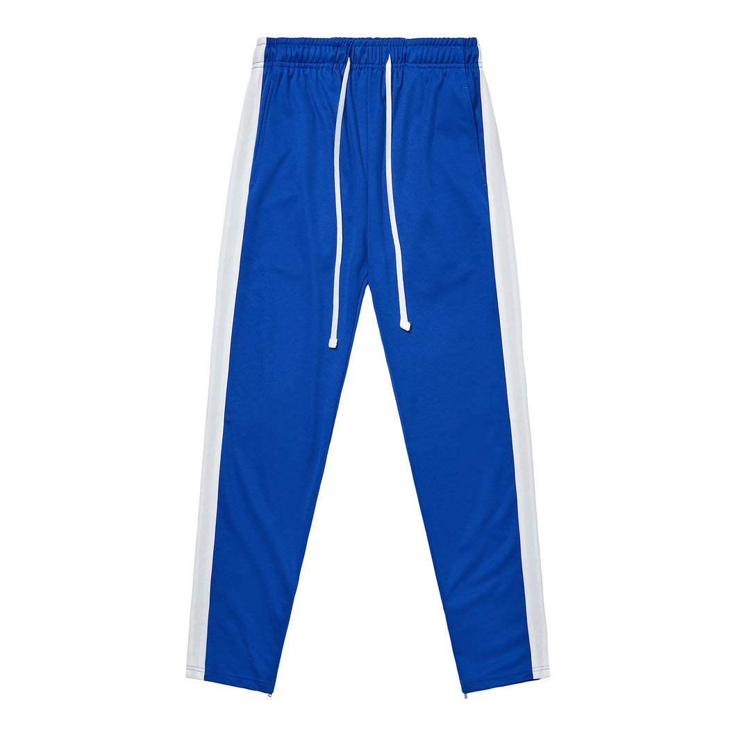 Sweatpants - Blue / White