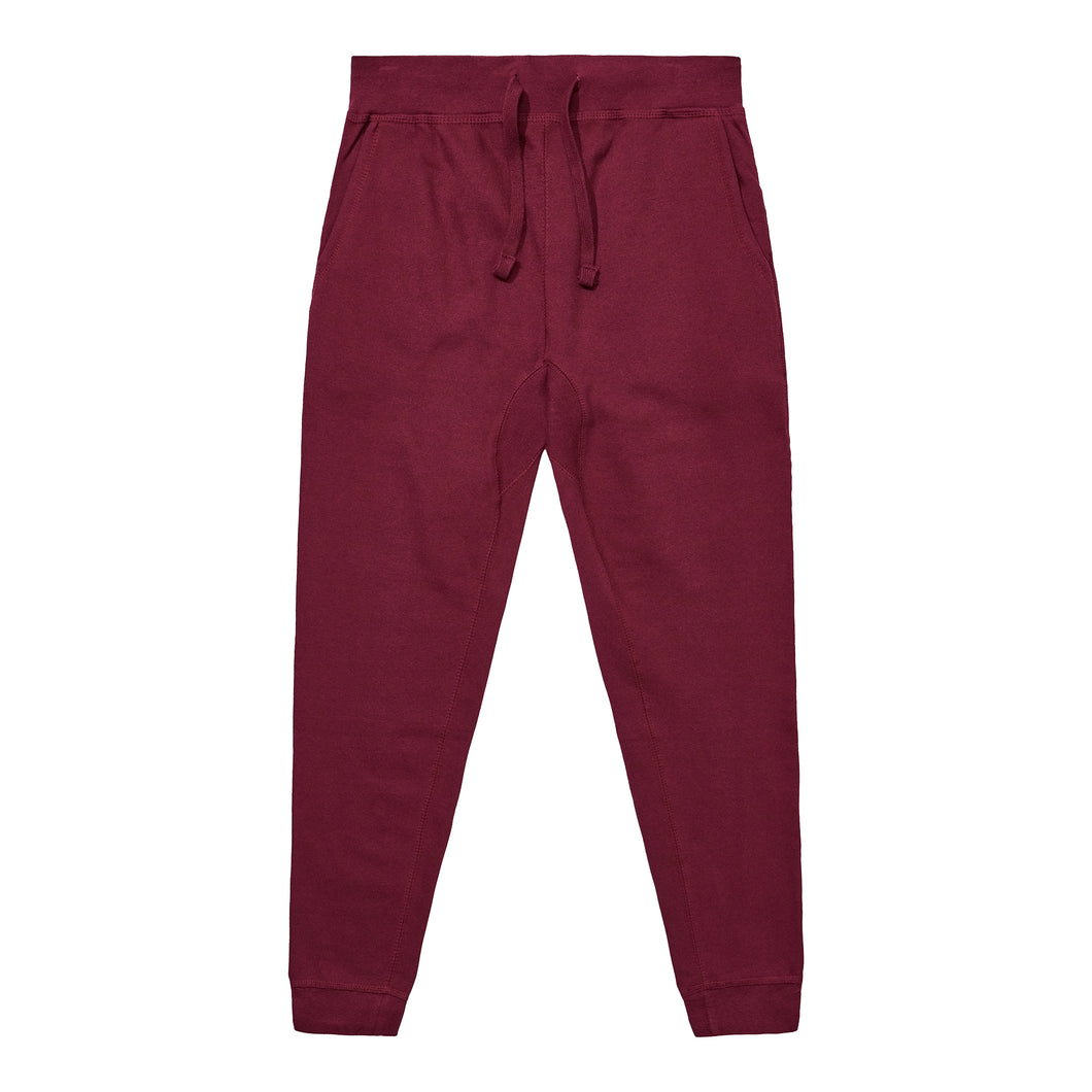 Fleece Pants - Burgundy