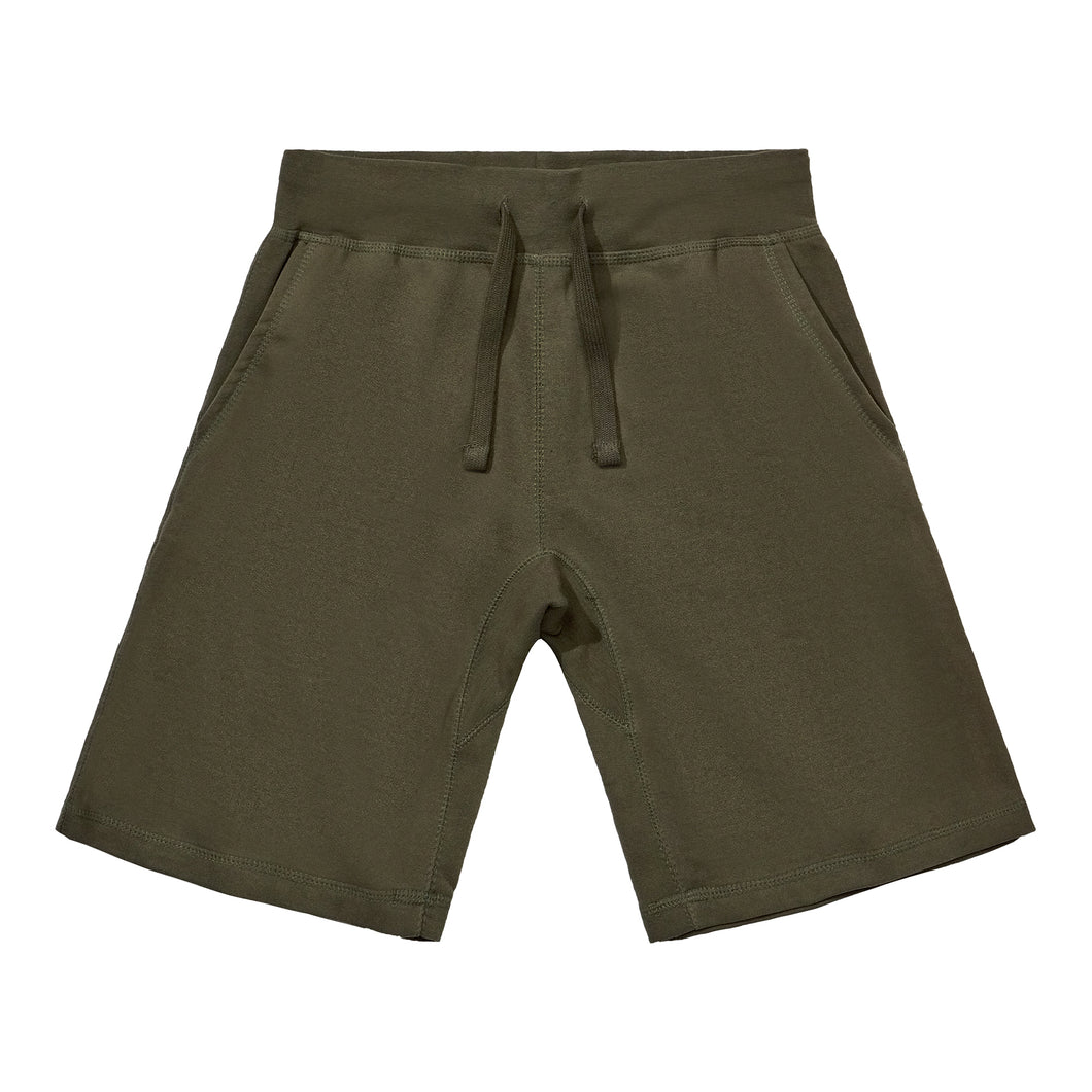 Fleece Shorts - Olive