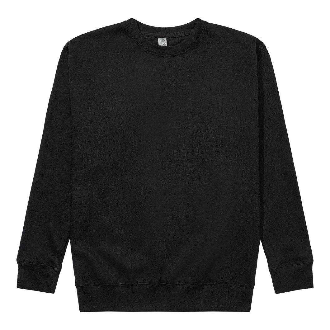 Fleece Crewneck - Black