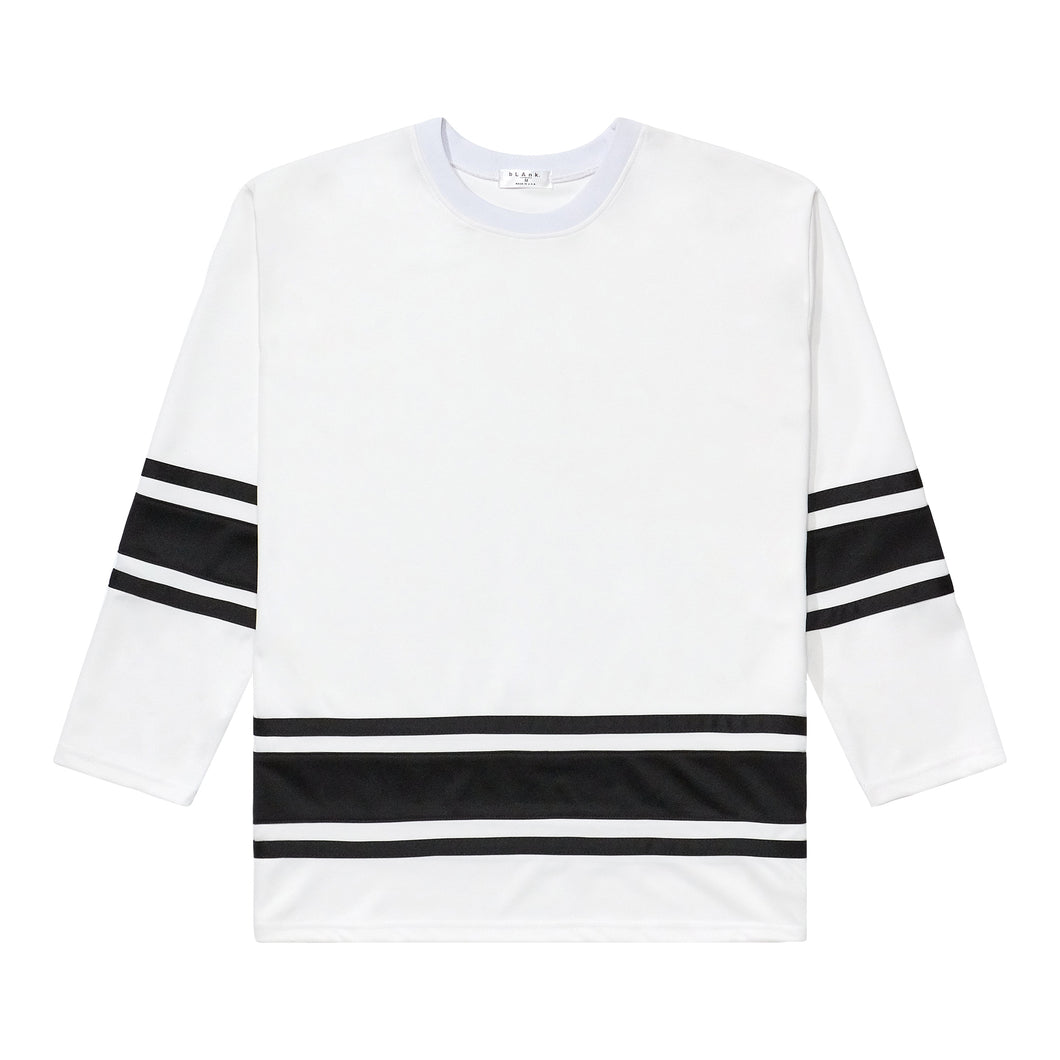 Hockey Jersey - White / Black