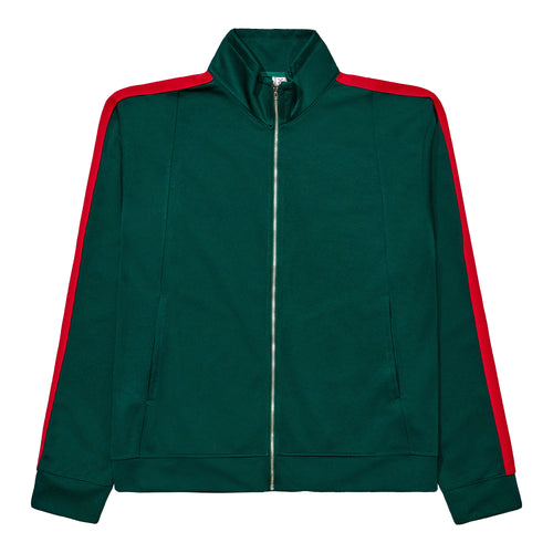 Track Jacket - Green / Red
