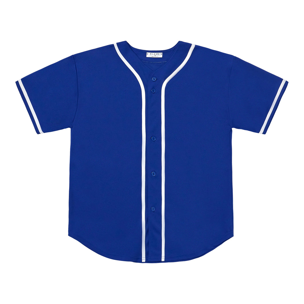 Baseball Jersey - Blue / White