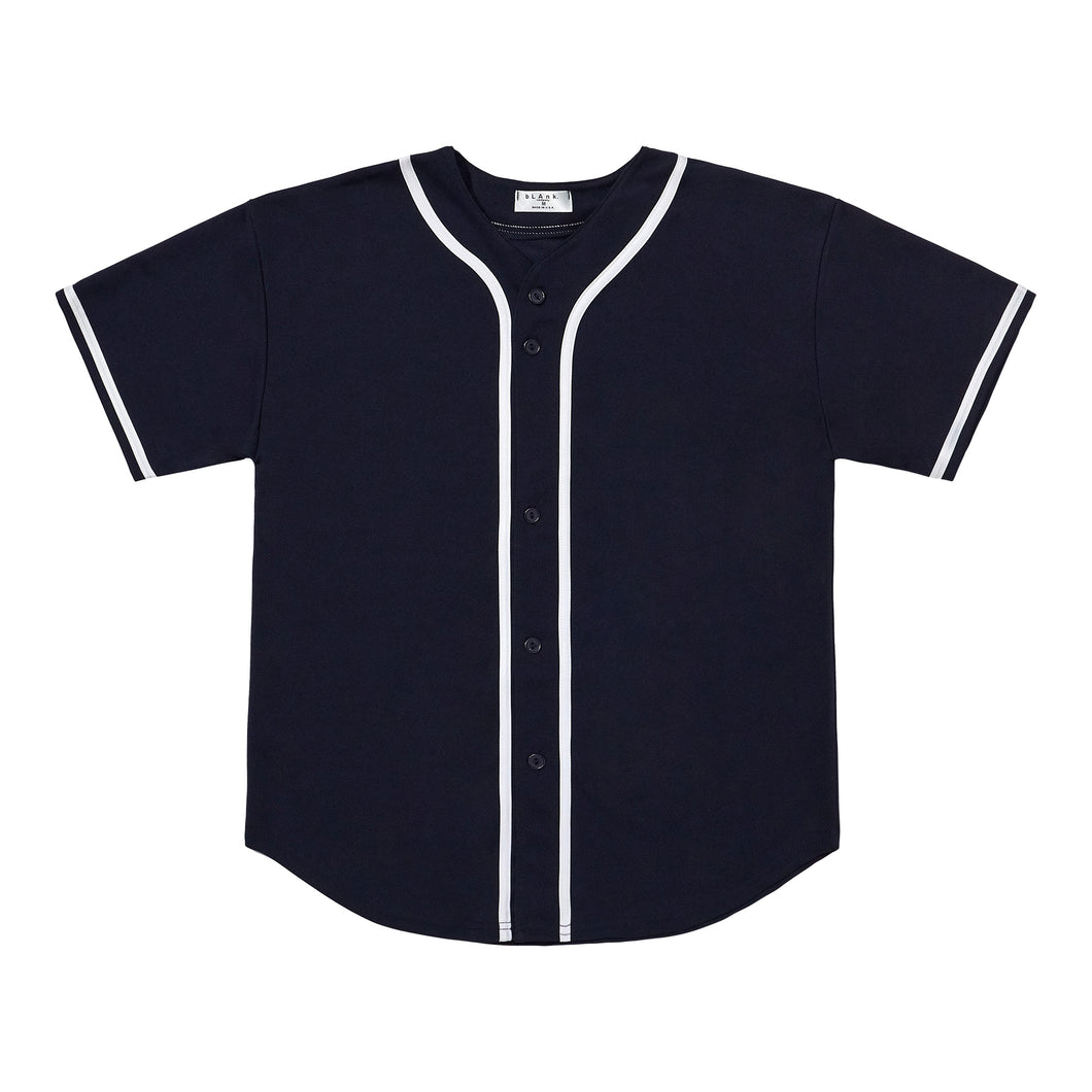 Baseball Jersey - Navy / White