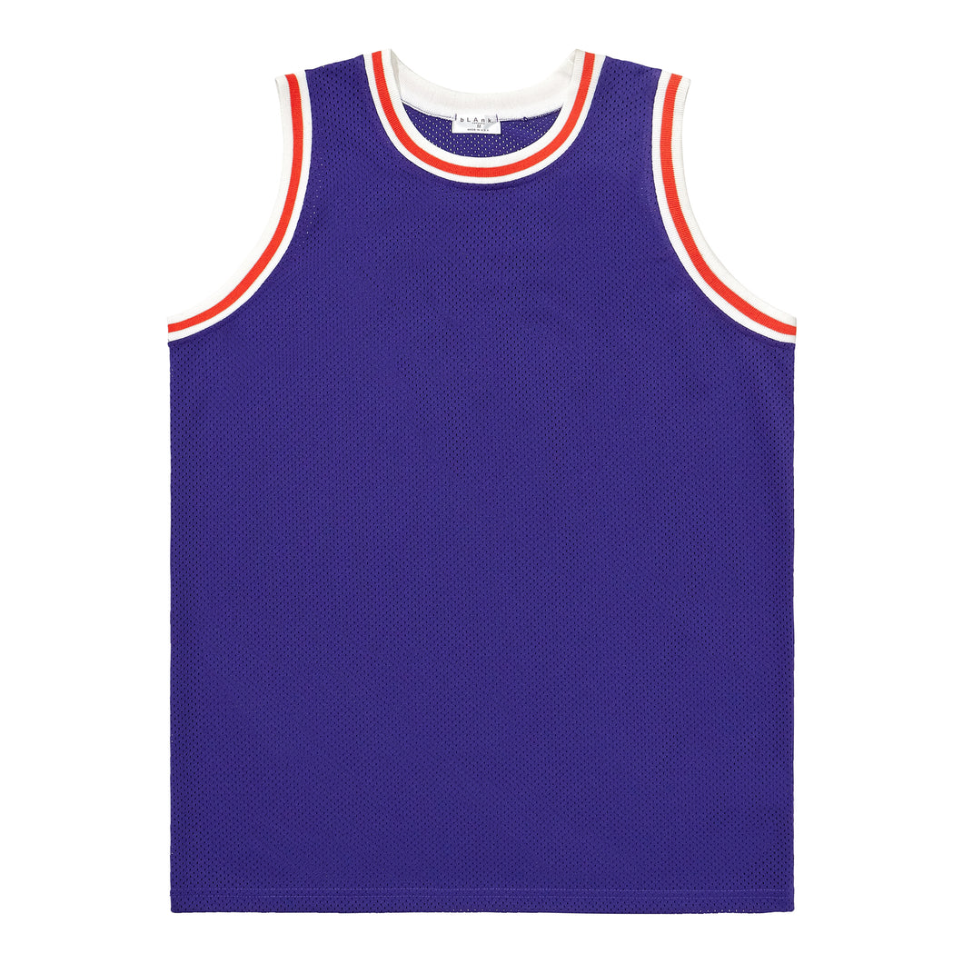 Basketball Jersey - Purple / Orange / White