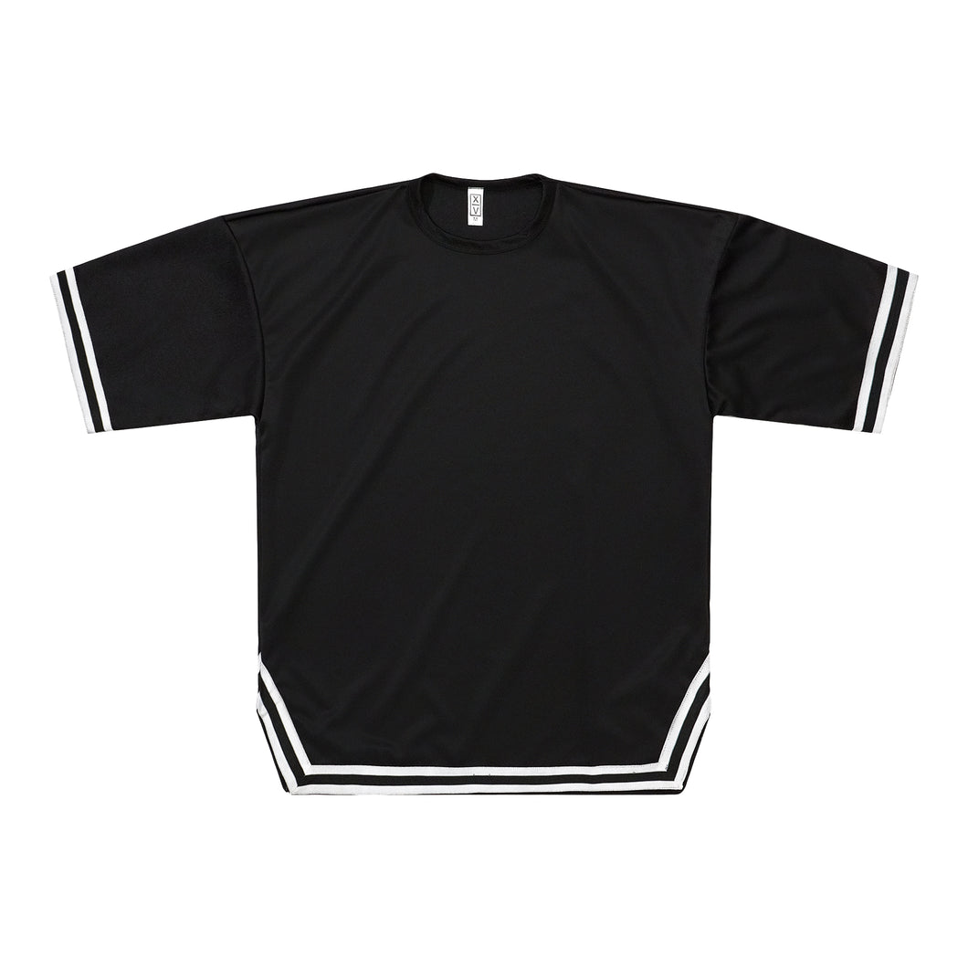 Crewneck Jersey - Black / White