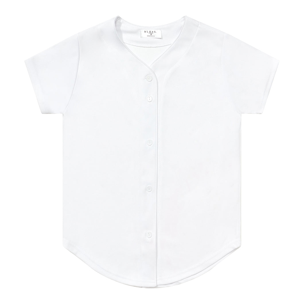 Woman's Baseball Jersey - White