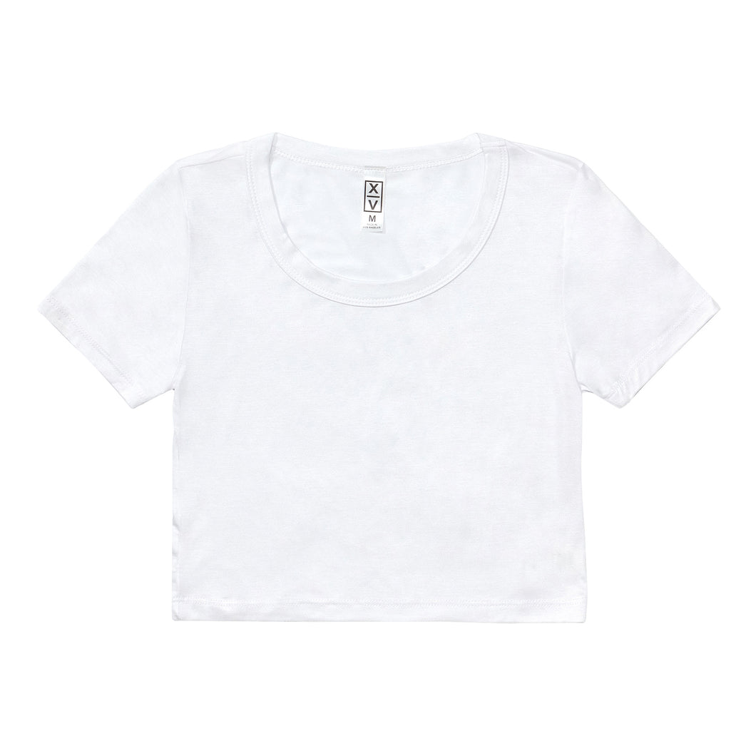 Woman's Crop Top - White