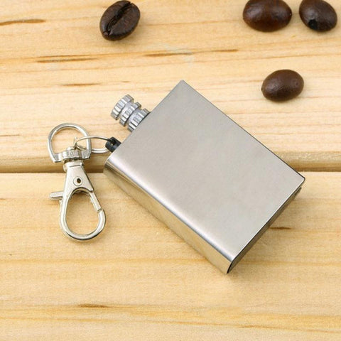 Waterproof Emergency Metal Flint Match Lighter