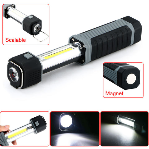 Fashion 2 in1 LED Stretchable Flashlight Torch