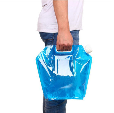 5L/10L Outdoor Collapsible Drinking Water Bag