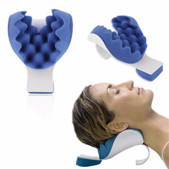 Releases Muscle Tension Relieves Tightness and Soreness Theraputic Neck Support Tension Reliever Neck And Shoulder Relaxer pillow