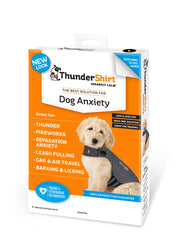 ThunderShirt Thunder Jacket for Dogs: Anxiety Treatment for Thunderstorms & More