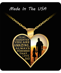 You Are Amazing - Love Dad - Necklace