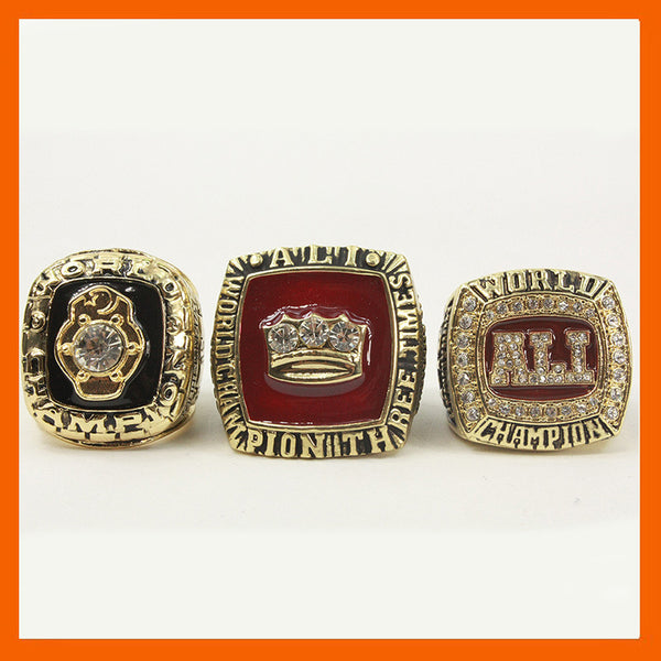 1974 1978 2016 Muhammad Ali Boxing Champ Rings