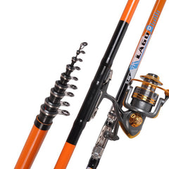 2.7-6.3M  Super Hard Fishing Rod Telescopic Sea Fishing
