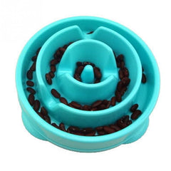 Flower Labyrinth Design Pet Dog Preventing Choking Dog Feeder Slow Eating Pet Bowl Prevent Gluttony Obesity Dog Bowls