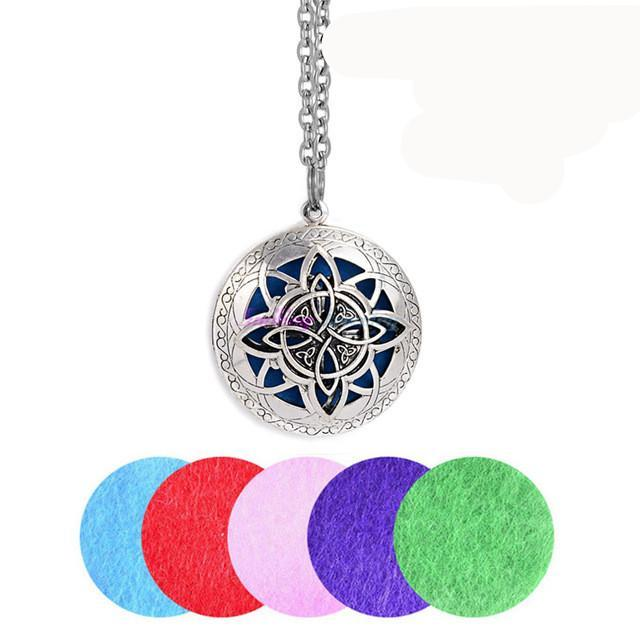 Hollow Vintage Necklace  Essential Oils Diffuser